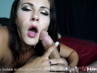 Linsey Worships Your Cock - LJFOREPLAY