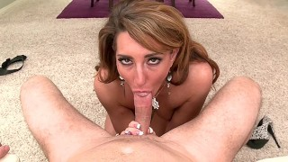 savannah fox gives a sloppy blowjob shows her lover