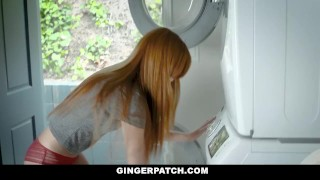 For cash stepdads gingerpatch cutie sucks firecrotch cock teenager petite