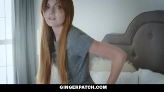GingerPatch - Firecrotch Cutie Sucks Stepdads Cock For Cash Reverse group