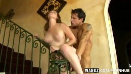 WANKZ- Milf Ginger Blaze Rides A Prick