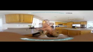 Gay VR PORN - Ebony twink Micha stroking his big black cock Tickling gay