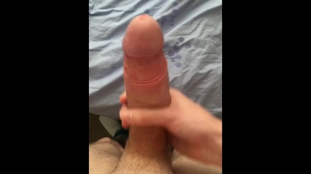 42 inch cock - 7 inch cock sprays huge load on bed