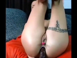10 Nov 2017 - Almost 10 minutes of intencive painful anal drilling