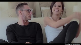 Preview 1 of Little Caprice - when he but his cock slow in my tiny pussy I get crazy wow