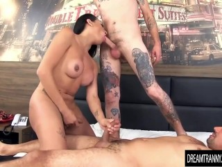 Small tits fucked for a ride