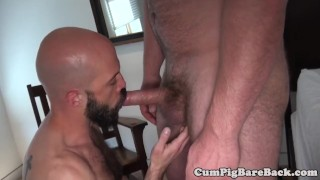 Hairy stud assfucked by bears fat dong Shaved pornstars