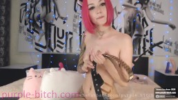 anal fingers fuck PURPLE-BITCH.COM pink hair