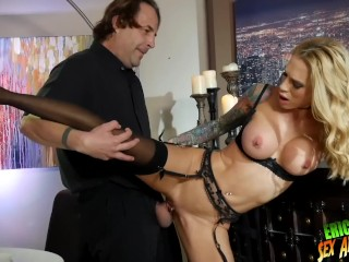 Pornstars With Small Boobs Fucking, Beautiful horny lonely SARAH JESSIe dines On waiter ERIC JOHNs 9