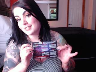 Unboxing Video Bad Dragon Apollo Toy With Gaberiella Monroe SFW