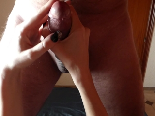 Female POV handjob