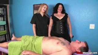 Tagteam domination massage tag mature