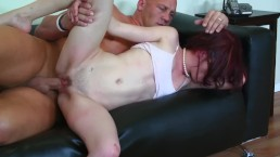 Very Young Teen babaysitter Gets Anal Fucking From Cheating Husband