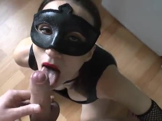 Amateur Girlfriend Videos Blow in mask, cum in mouth