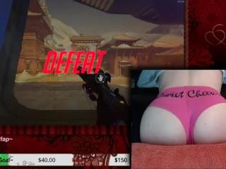 Sweet Cheeks - Femboy Healslut Plays Overwatch (2017-11-11)