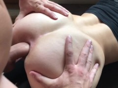Cheating TEEN gets HARD ANAL GAPE & CREAMPIE