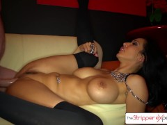 The Stripper Experience - Isis Love gets fucked by a big dick, big boobs