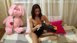 Lovenia Lux has HUGE Orgasm testing  Pornhub Turbo Rabbit Vibrator