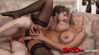 Her gets and bridgette blonde fucked pussy squirts b big milf