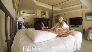 SpyFam Step daughter Piper Perri fuck and creampie for stealing moms dildo  step dad step daughter spyfam hd blowjob blonde small tits skinny toys hardcore taboo piper perri reality petite 60fps sex spy cream pie