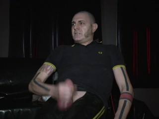 bate and cum in rubber