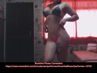 Preview 5 of Hot Bikini Fitness Baby - Bikini Show off