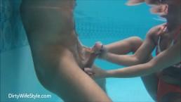 3 masturbaciones acuáticas con corridas