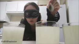 Making Fake Cum Experiment, Part 2 (vlog #3)
