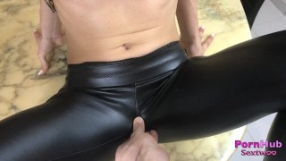 Salope cuir se son remplir par fait baiser bonne et en amant fuck baise