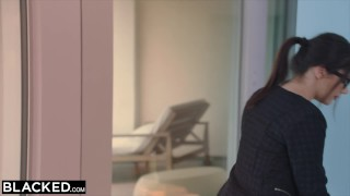 Preview 1 of BLACKED Valentina Nappi takes the biggest bbc in the world
