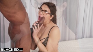 BLACKED Valentina Nappi takes the biggest bbc in the world Hard butt