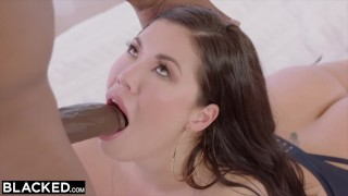 BLACKED Anal Sex  With My Boss To Get Ahead  brunette, big ass dick, ass, big tits blowjob, bbc hairy deep black big bbc, tits, throat, interracial, anal, asian, cock, bush, hairy,