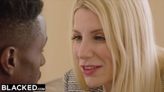 Preview 2 of BLACKED Hot Nympho Cant Keep Her Hands Off The BBC