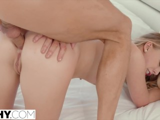 TUSHY Hot College Student Has Anal Sex With Dads Friend