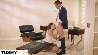 TUSHY Straight A Student Loves Anal