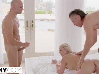 TUSHY Alexis intense anal double penetration