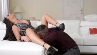 Pissed off Rachele Richey gets Fucked HARD in her Ass.