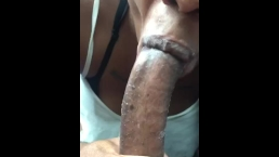 Personal dick eater.. Swallows every drop