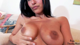Orgasmic hot brunette fuck her holes and make big squirt orgasm! Glamour hungarian