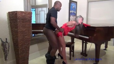 Piano Lesson - Milf Seduces BBC Instructor
