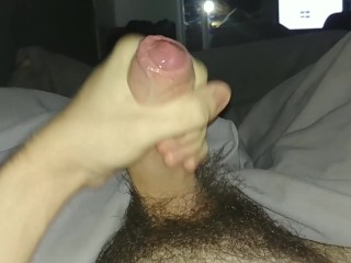 Cumshot before bed REUPLOAD