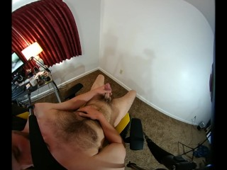 VR POV stroke and CUM