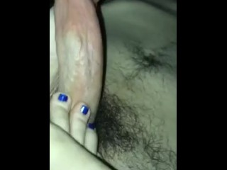 I brag about cheating on my bf during foot job part 2