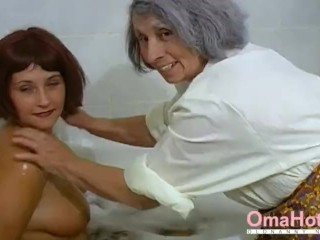 OmaHoteL Grandma and Mature are Playing Together