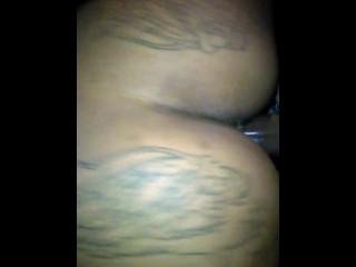 Ebony stripper getting fucked