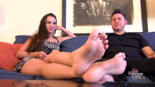 Ashlynn Taylor Foot Worship footjob Brattyfootgirls.com