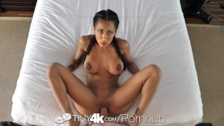 Tiny4k Busty Amia Miley gets the hot beef injection with facial