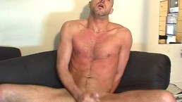 David Handsome hetero guy's big cock to touch in spite of him.
