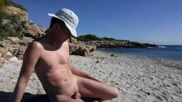 Lapjaz caught on the beach