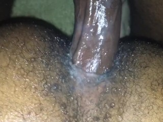 Slow stroking nice wet hole